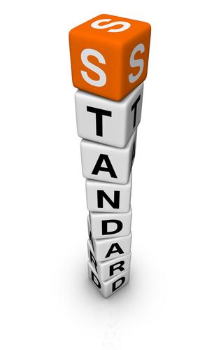 Standard on blocks